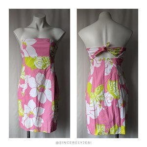 Lilly Pulitzer ▪ She's a Piston Strapless Dress
